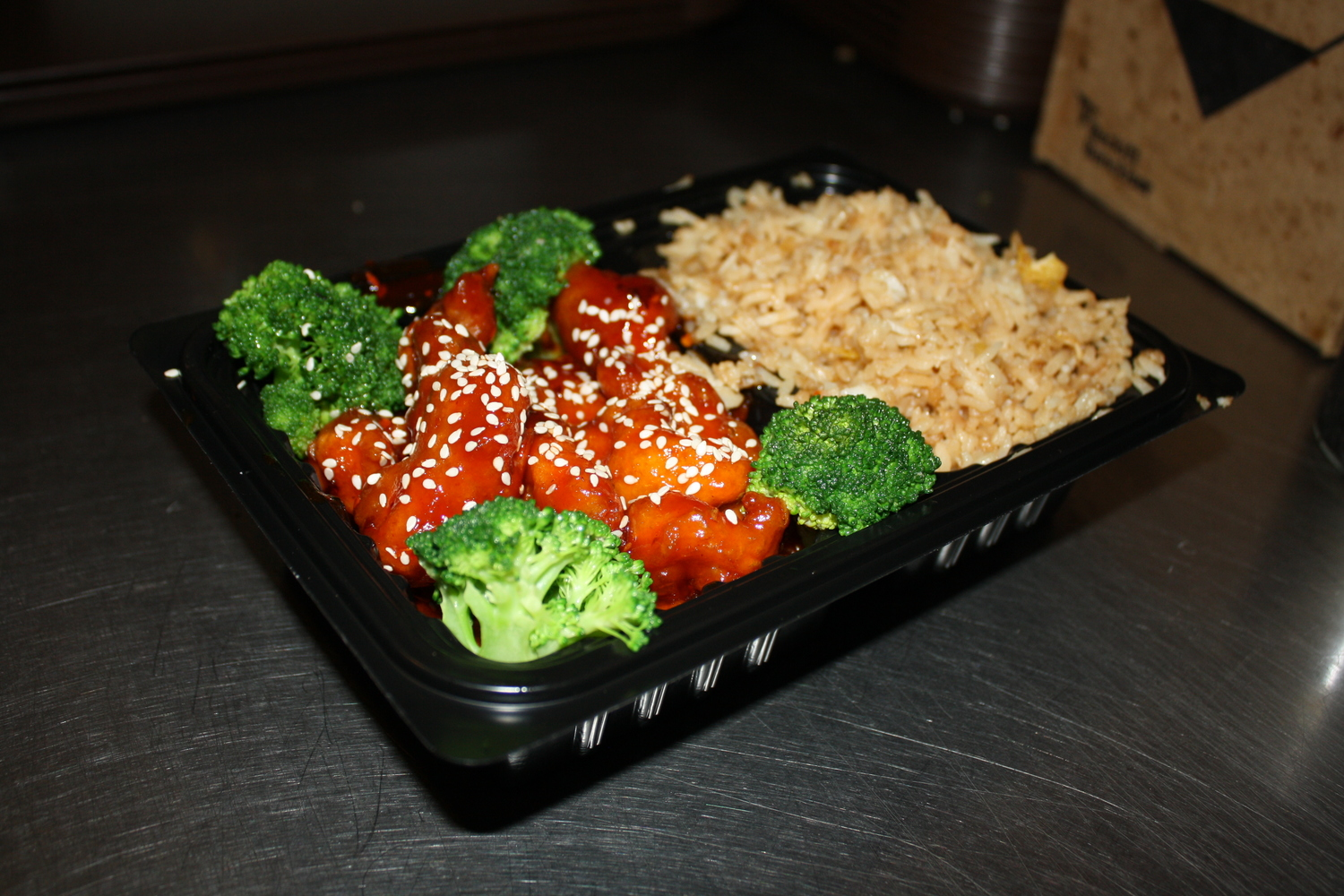 Sesame Chicken Lunch Special