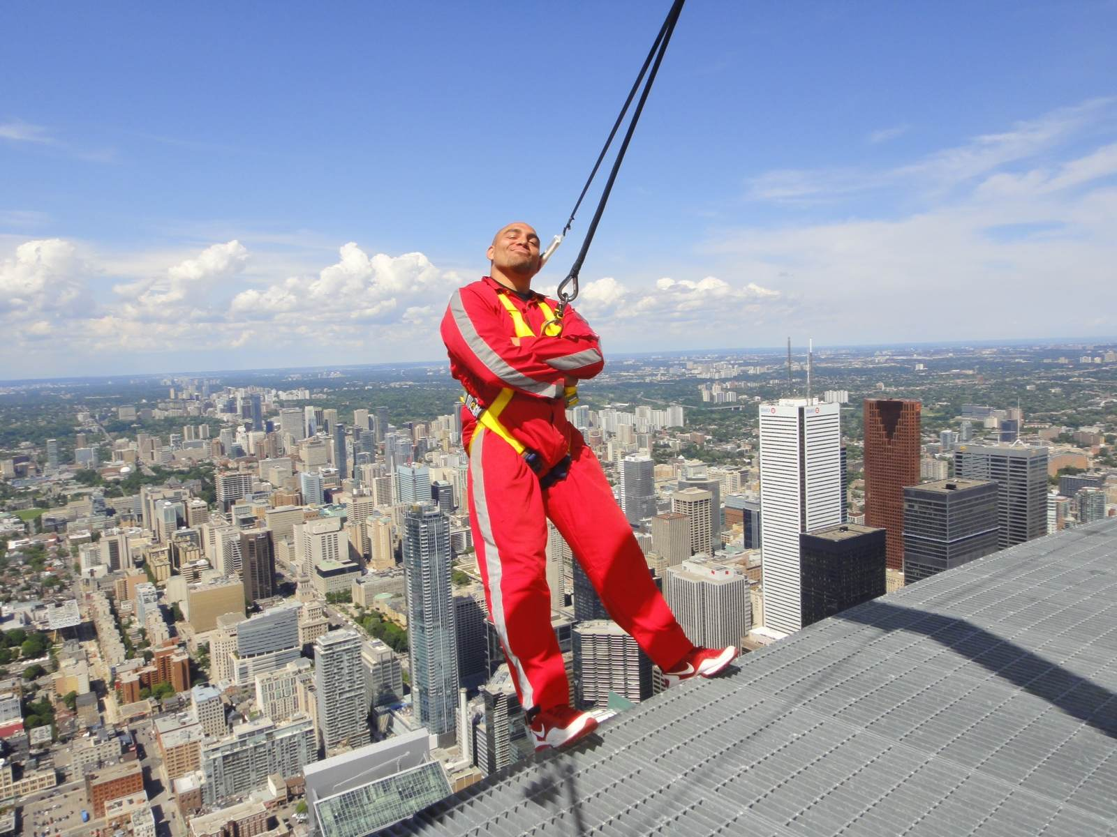 CN Tower walk in Toronto