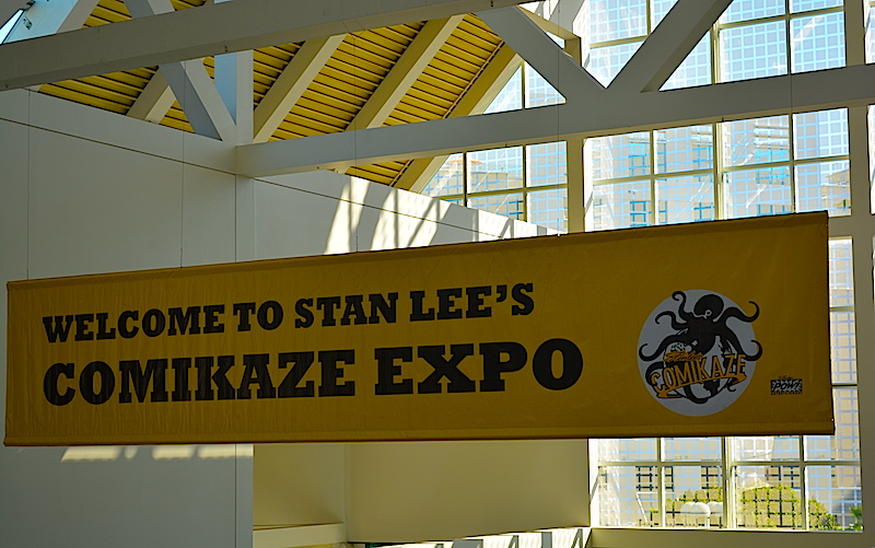 Welcome to Comikaze. ©  West of The Rockies