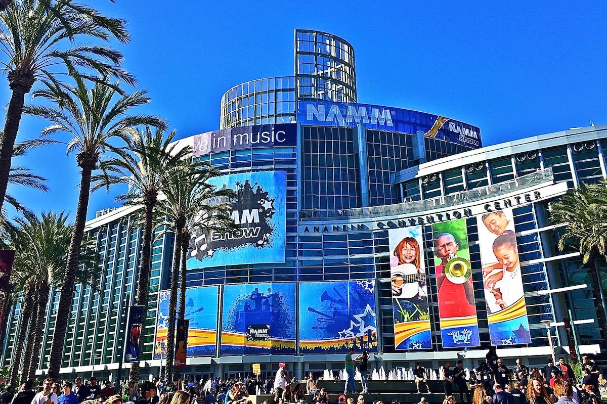 """Well, Hello NAMM!"" The Anaheim Convention Centre, 2015."