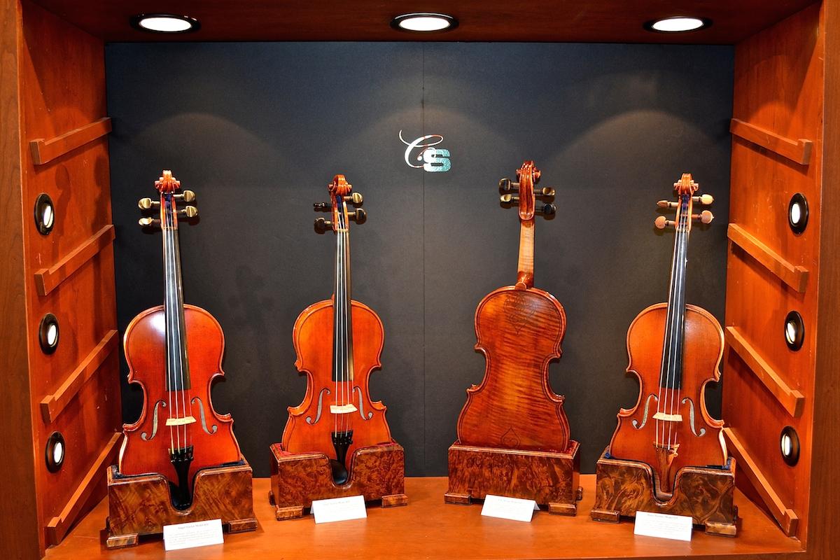 CS Violins, NAMM 2015. ©WoTR Radio