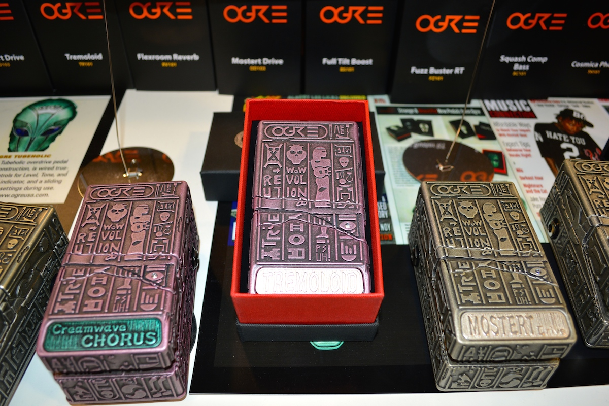 More cool Ogre pedals, NAMM 2015. ©WoTR Radio