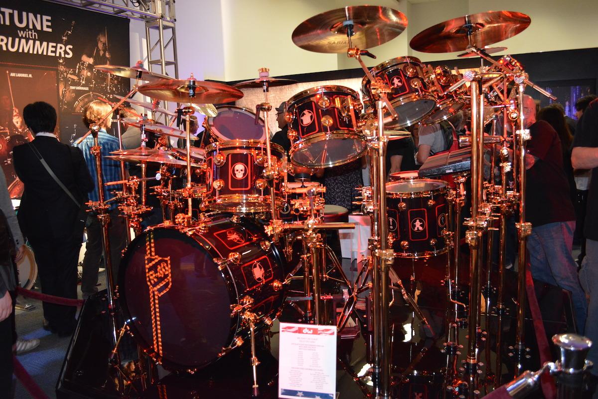DW Drums, NAMM 2015. ©WoTR Radio