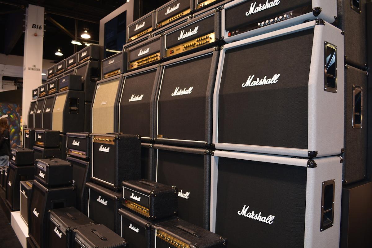 Marshall Amplifiers, NAMM 2015. ©WoTR Radio