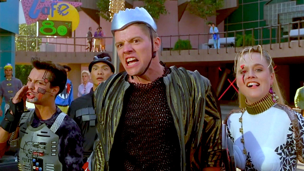 """The """"baddies"""" in their oh-so-fetching outfits. Taken from  Back To The Future II ."""