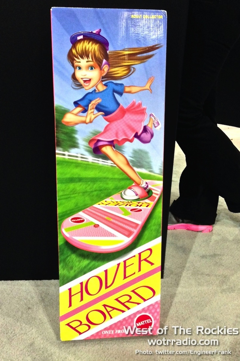 The Hover Board, as seen at  Comikaze 2013 .