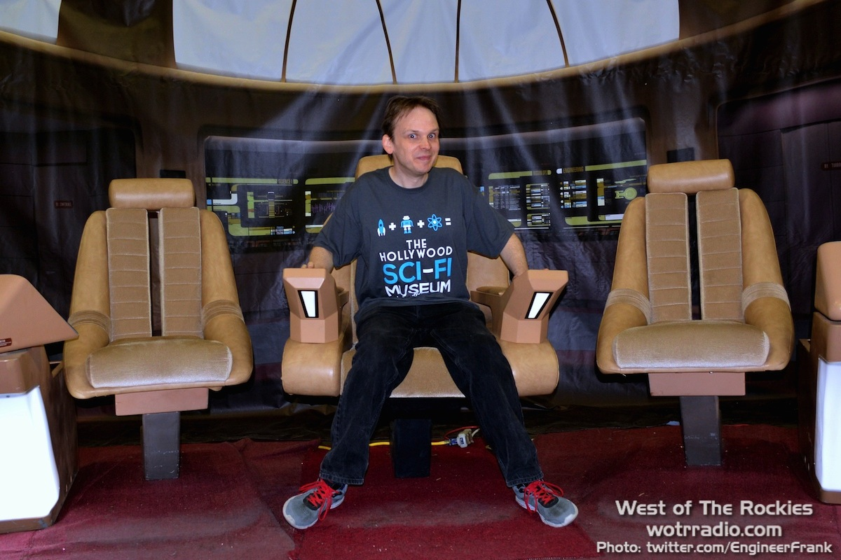 Huston Huddleston, CEO of the New Starship Foundation at Stan Lee's Comikaze Expo 2015