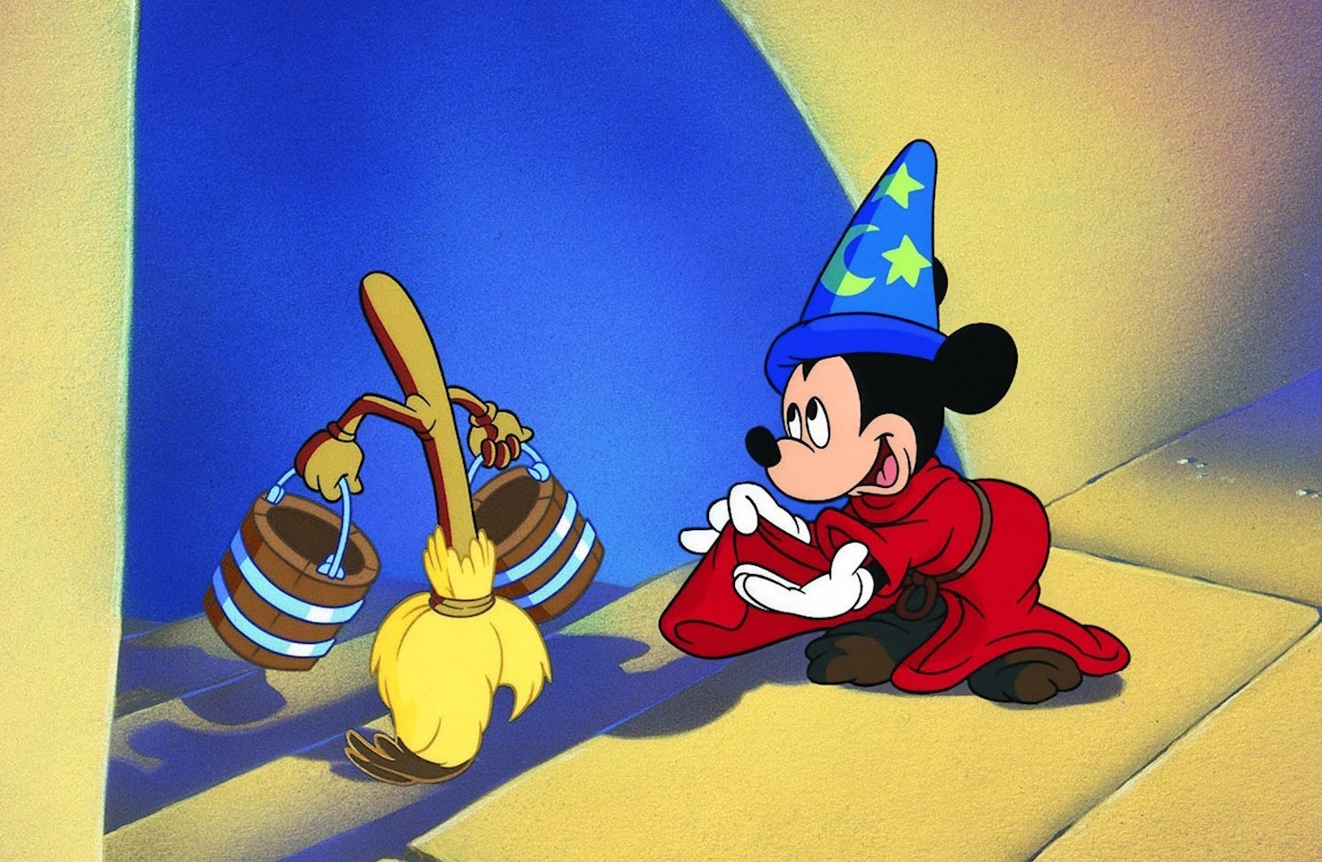 Fantasia  , Bob's favourite   Disney  movie; it boasts an impressive 16-Track Soundtrack, a ridiculous feat for the 40s. (Photo taken from the original trailer. Copyright: Disney )