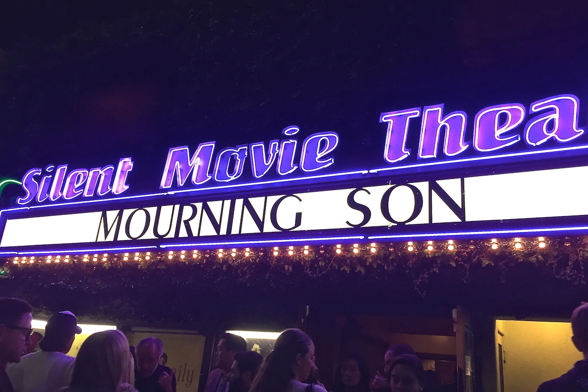 Mourning Son Private Screening, December 1, 2015. Photo courtesy of Frank Argueta. Check out our review    here   .