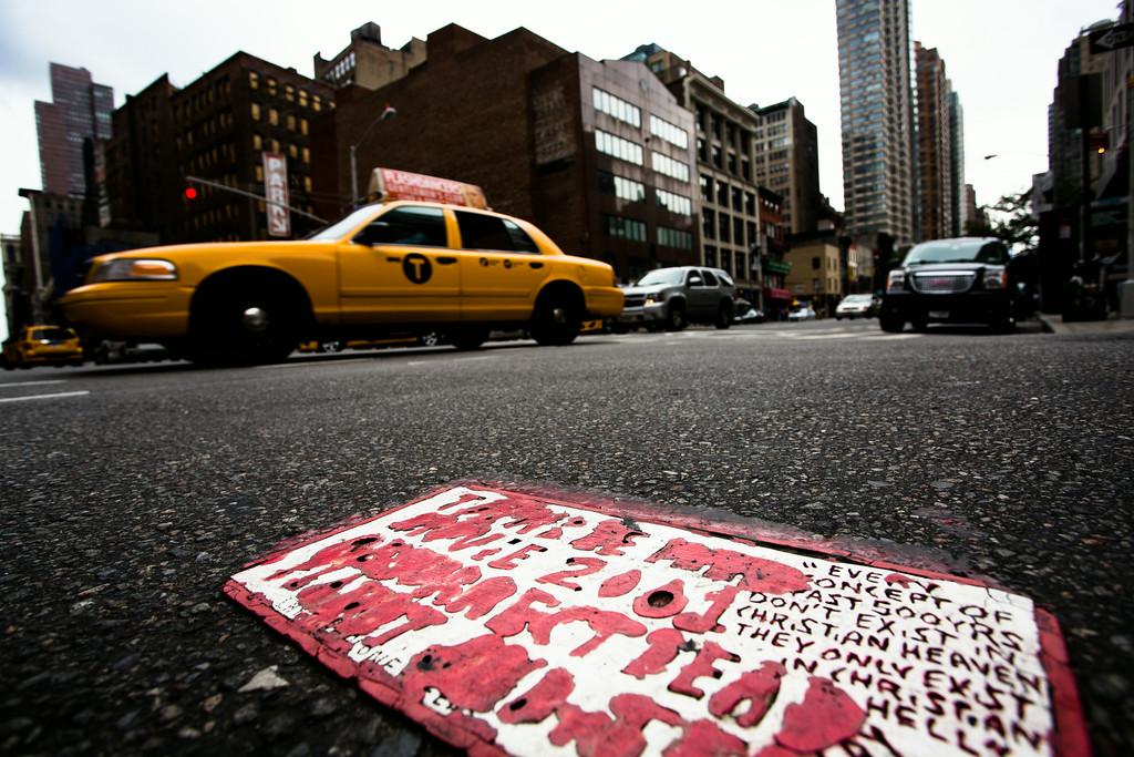 Tile at 30th St. & 6th Ave. New York, NY. Photo: © Steve Weinik Photography