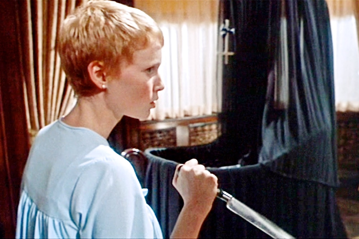 Scene from  Rosemary's Baby  (1968) written and directed by Roman Polanski.