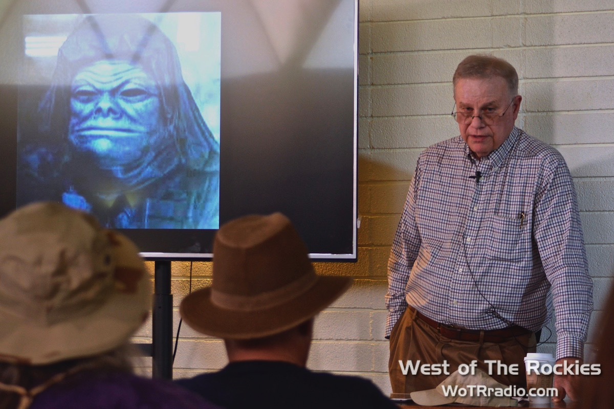 "Author Whitley Strieber in his workshop: ""Stories From A Life: Present Contact, Life & Afterlife."""