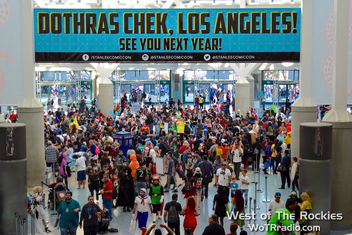 Record-breaking attendance:  Stan Lee's Los Angeles Comic Con  and Official Media Partner  Entertainment Weekly  joined forces to make the Seventh Annual Comic Con the biggest pop culture convention in L.A.'s history.