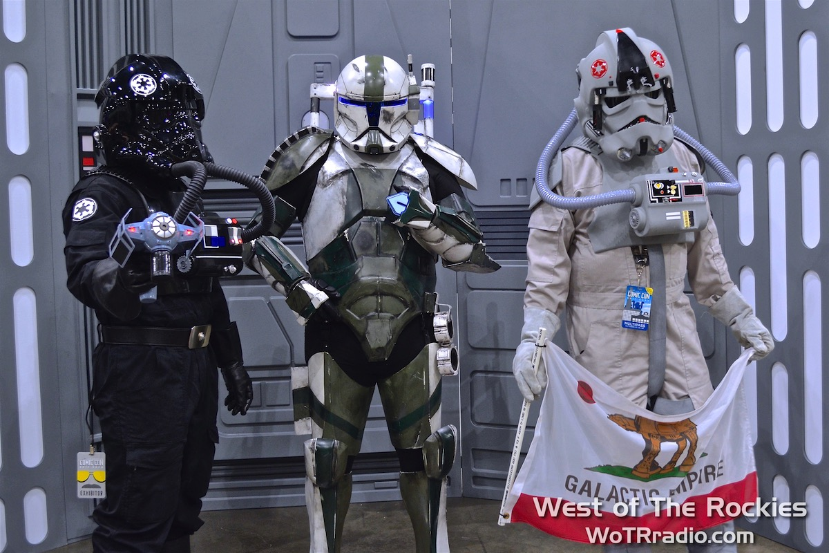These aren't the droids you're looking for.