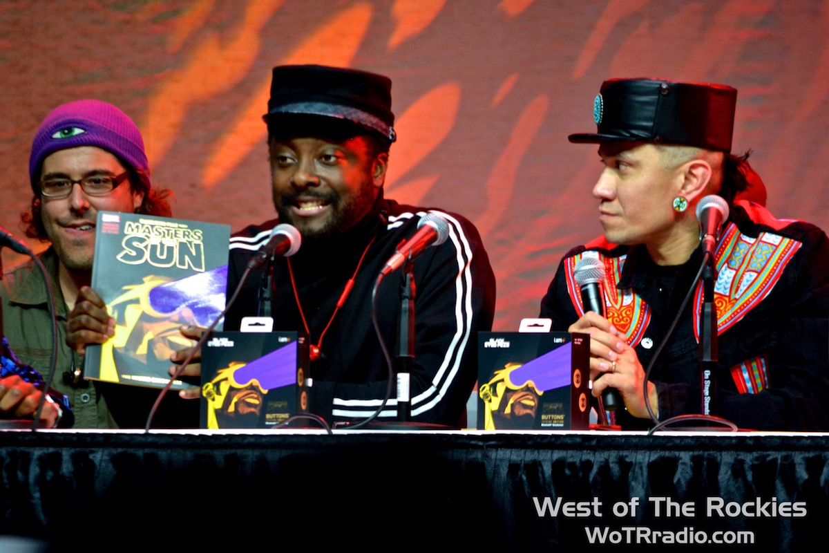 will.i.am and Taboo