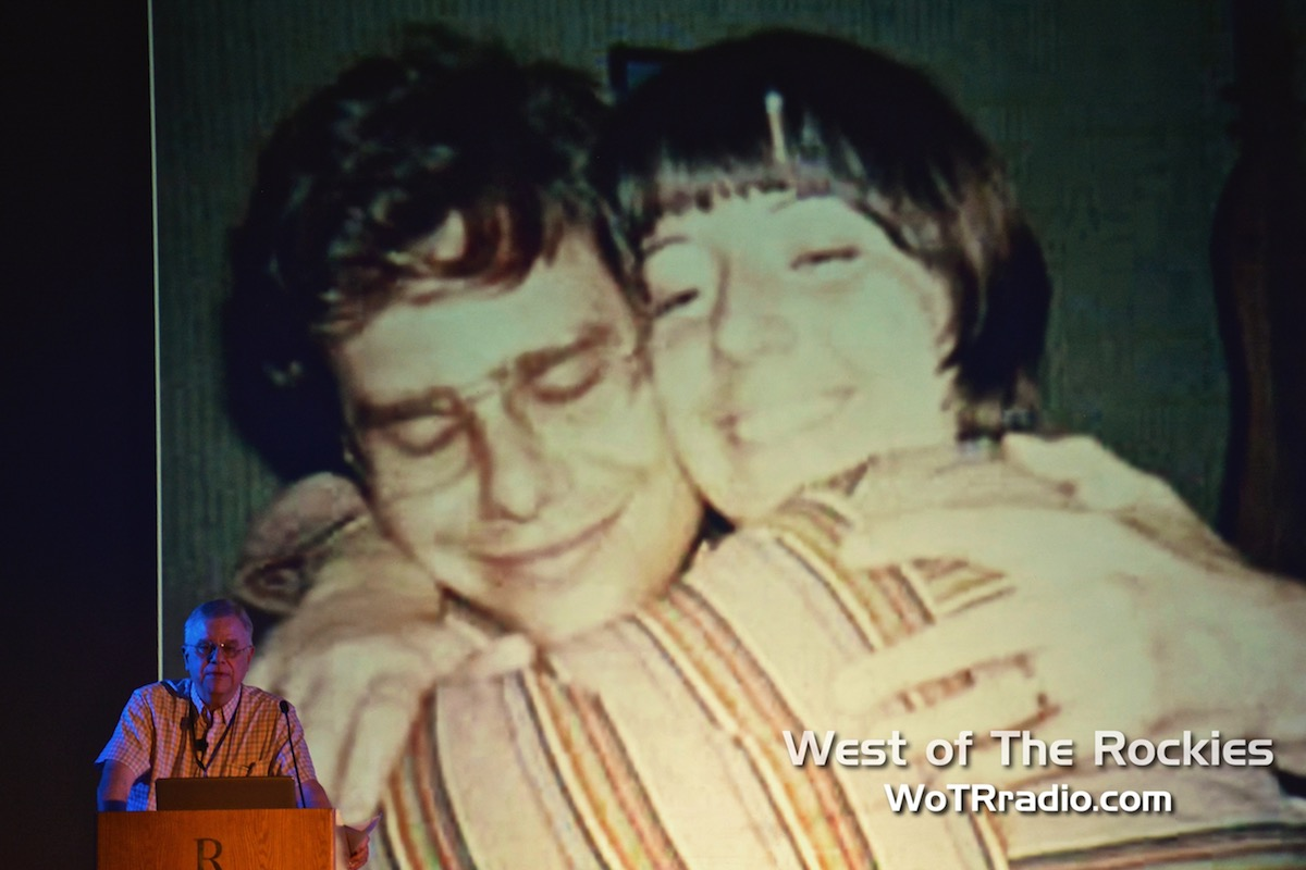 """A touching moment during Whitley Strieber's lecture, """" The Afterlife Revolution ."""""""