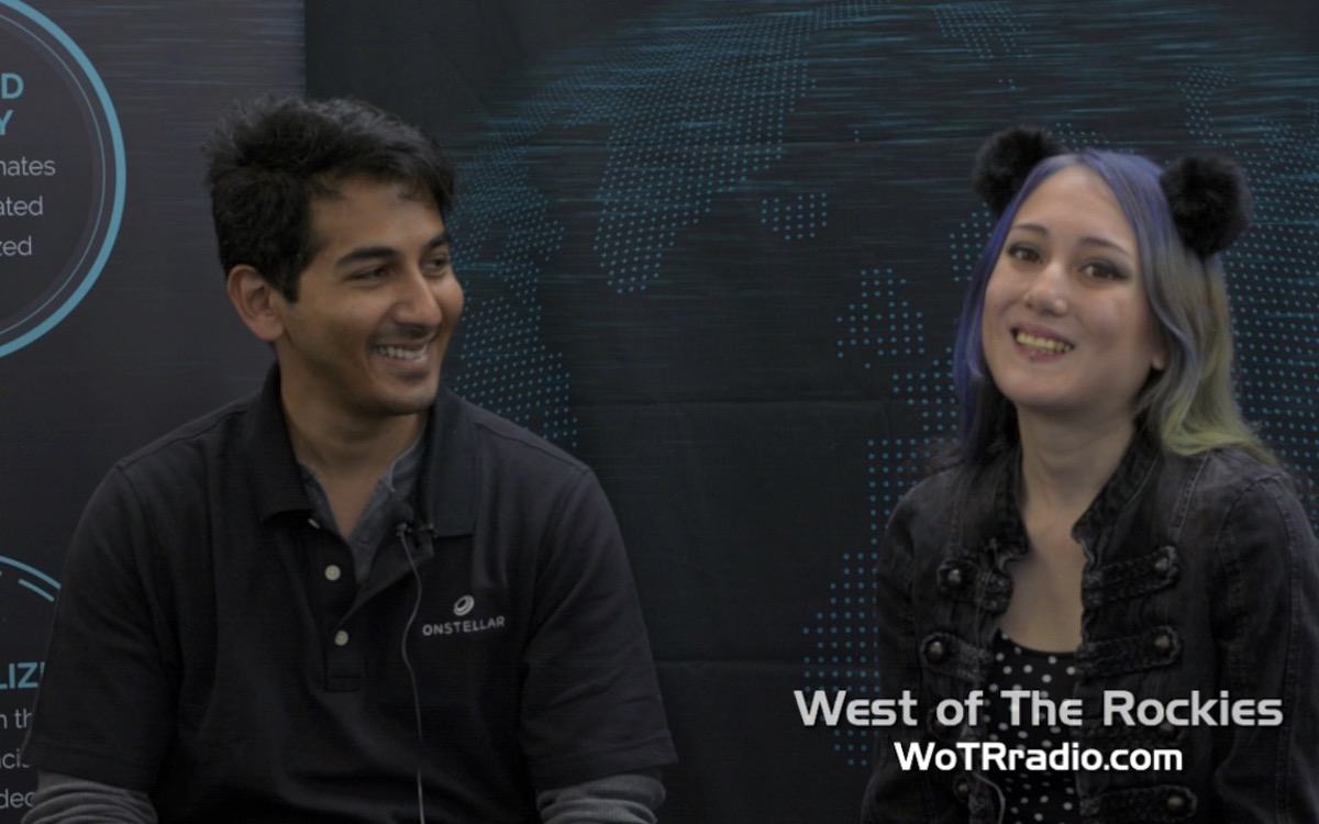 """Coming soon: a video interview with Executive VP of OnStellar, Desh Weragoda talking about this brand new social media platform. Sign up using the promo code """"wotrradio"""" for bonus tokens."""
