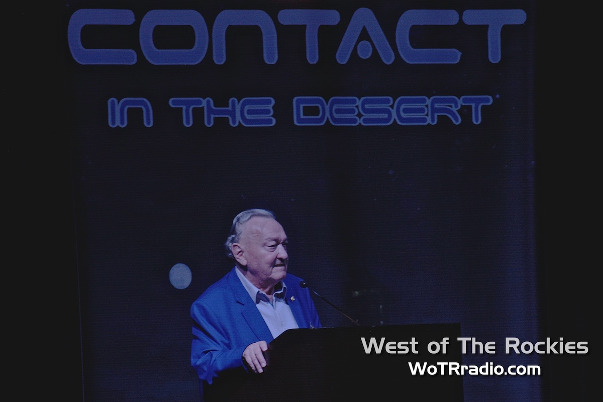 """The godfather of the """"Ancient Astronauts"""" hypothesis, author and researcher,  Erich von Daniken ."""