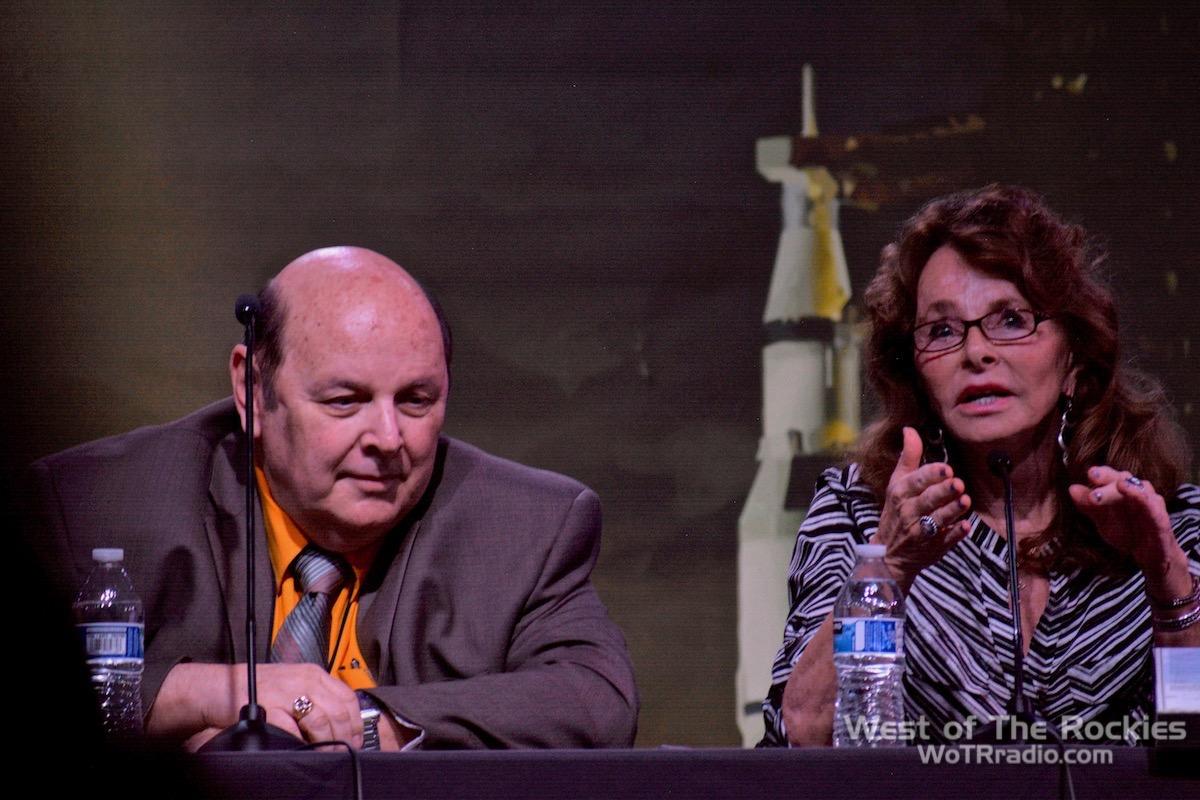Panel Close-up: David Adair & Linda Moulton Howe. Contact In The Desert 2019.