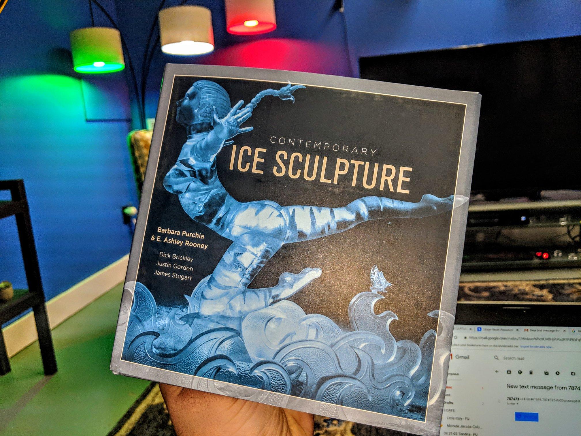 Ice Sculpture Book