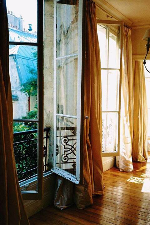 big open windows