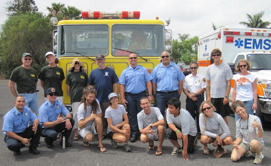 Wildfire Preparedness Day on May 3rd, 2014 with our partners from Hawaii Fire Department, Waikoloa C.E.R.T., Malama Kai Foundation, and Waikoloa Dry Forest Initiative.