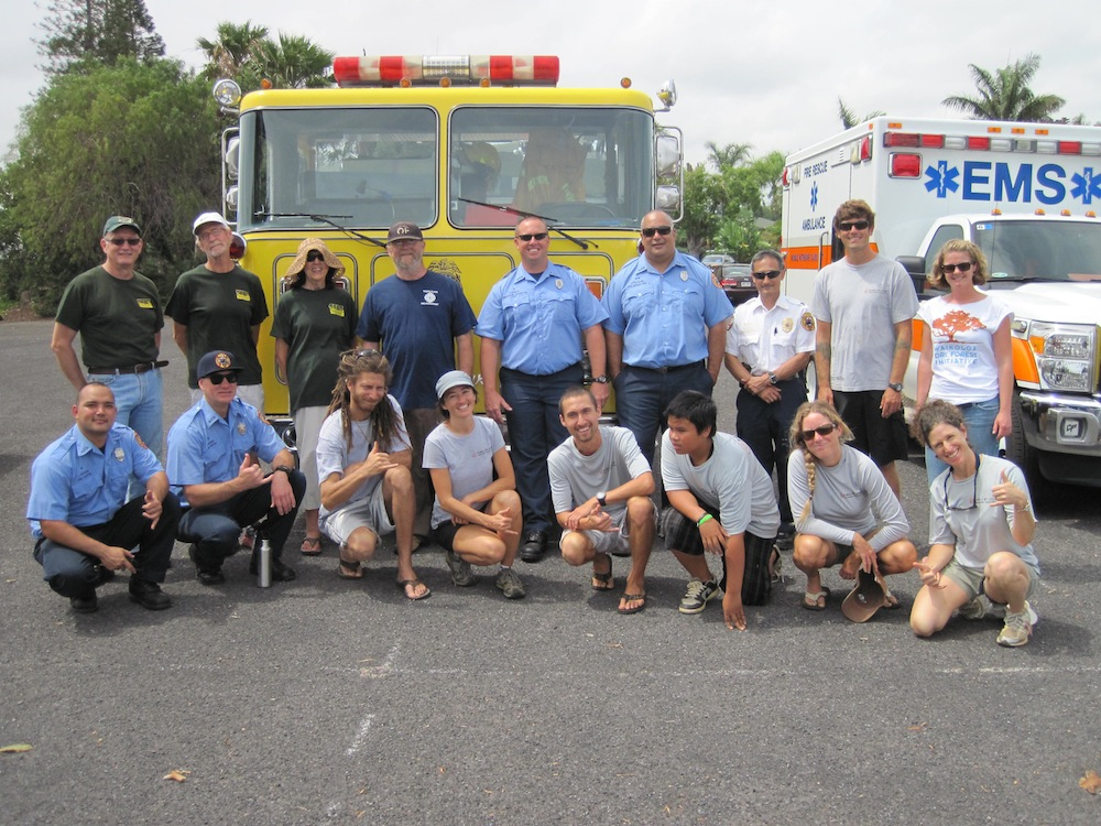 HWMO and its partners at Wildfire Prep Day 2014.
