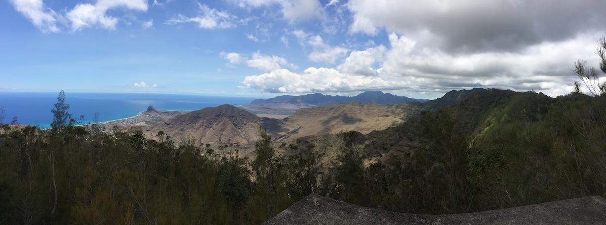 Incredible view of Waianae near the Palehua Ranch area.