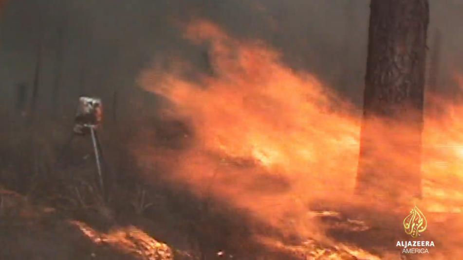 Screen capture from Al Jazeera video.