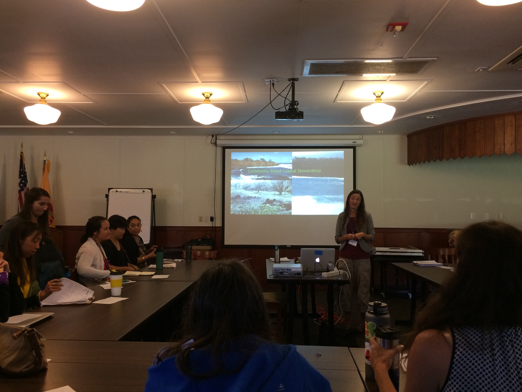 Elizabeth Pickett shares lessons learned from the youth stewardship program she runs called Ocean Warriors.