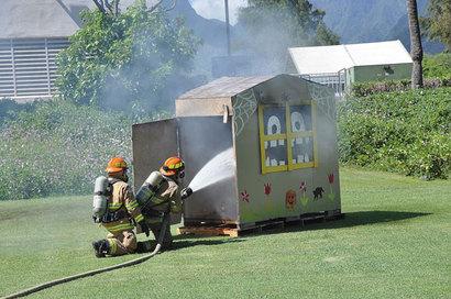 MFD fire safety presentation. Credit: Lahaina News