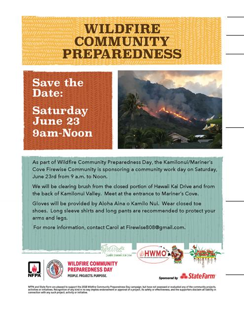 Kamilonui-Mariners Cove Firewise Day Flyer 2018.jpeg