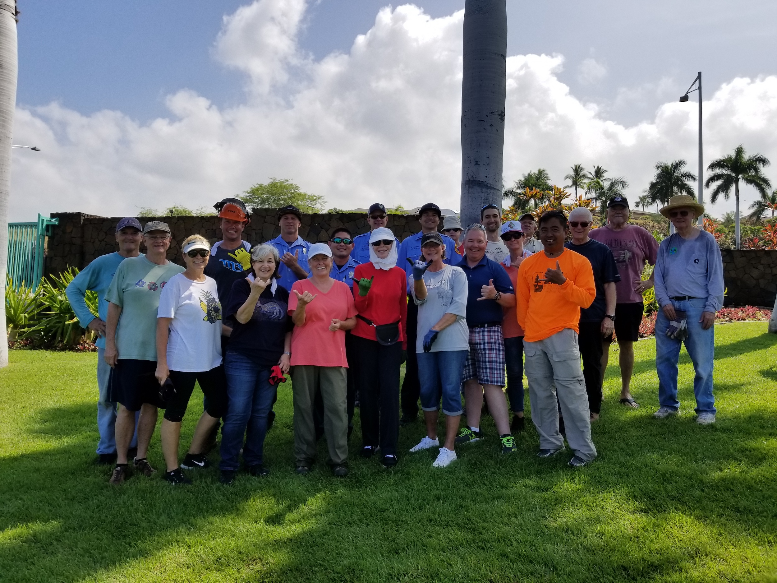 Keep up the great work, Kohala Waterfront! Credit: Marla Herman.