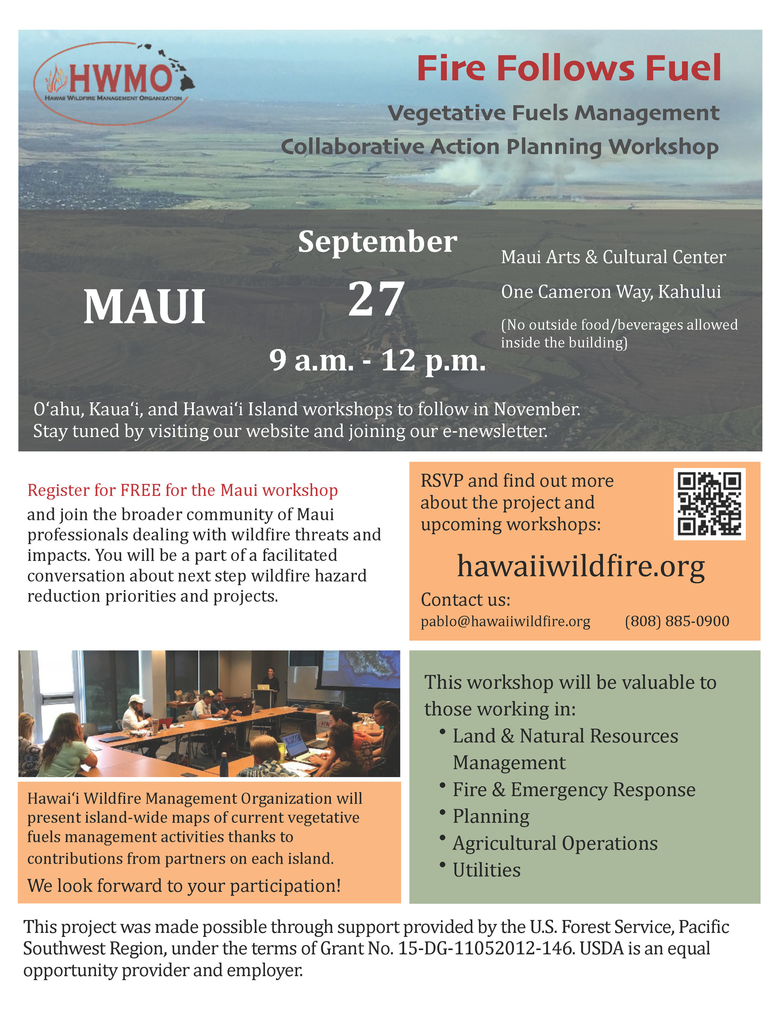 Maui Vegetative Fuels Management Collaborative Action Planning Flyer.jpg