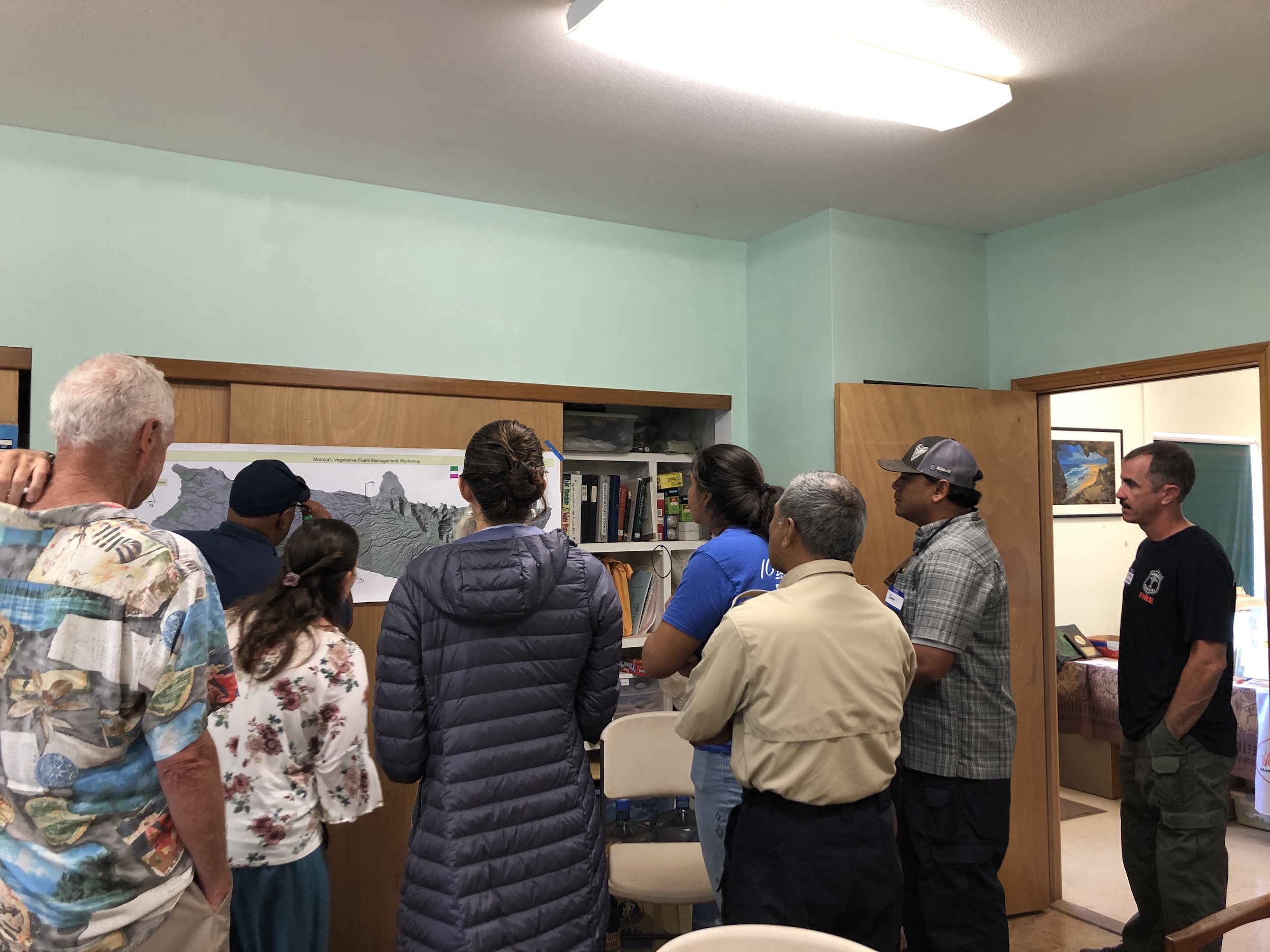 Molokai Vegetative Fuels Management Collaborative Action Planning and Mapping Workshop_4_2_2019_6.JPG