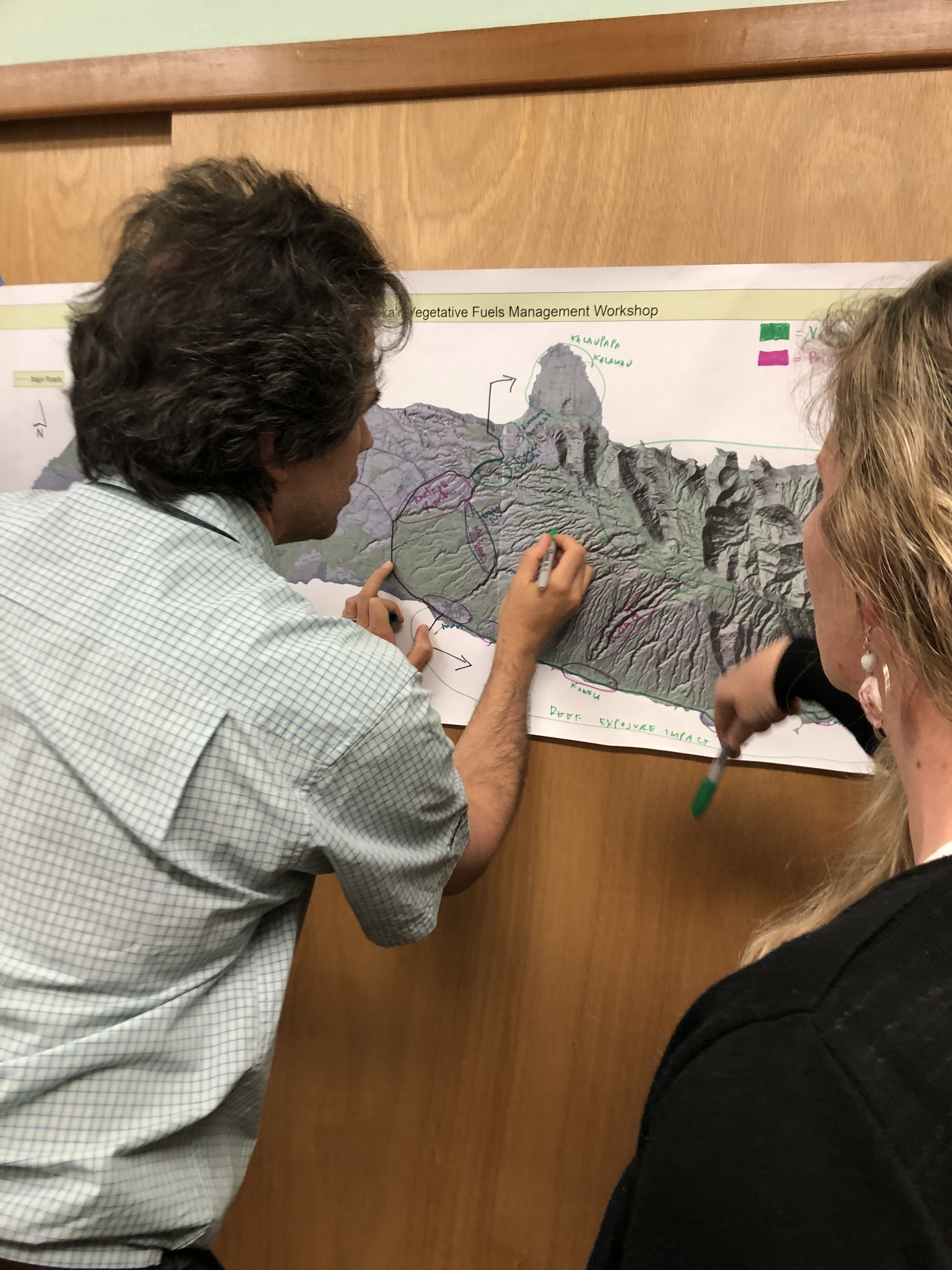 Molokai Vegetative Fuels Management Collaborative Action Planning and Mapping Workshop_4_2_2019_18.JPG