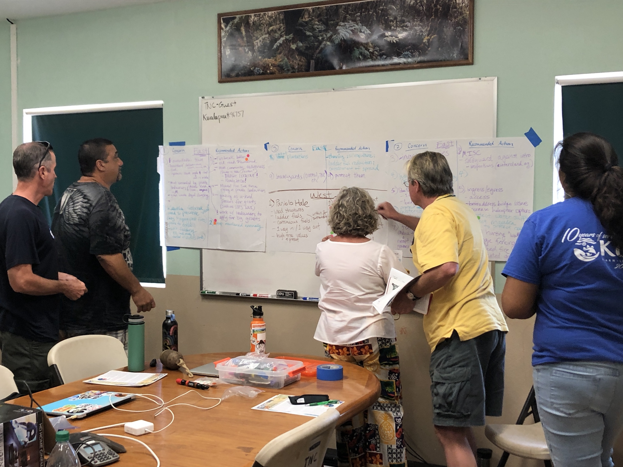 Molokai Vegetative Fuels Management Collaborative Action Planning and Mapping Workshop_4_2_2019_23.JPG