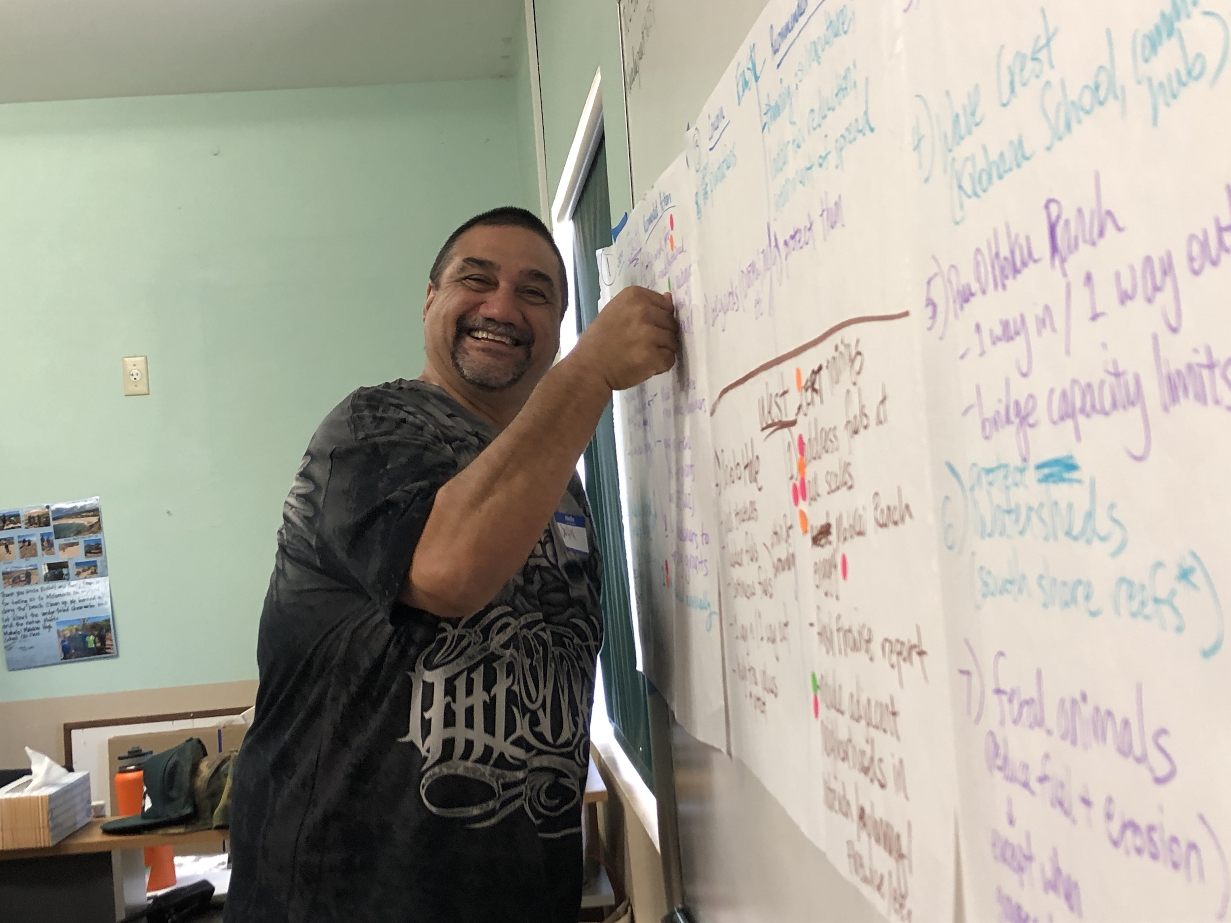 Molokai Vegetative Fuels Management Collaborative Action Planning and Mapping Workshop_4_2_2019_24.JPG