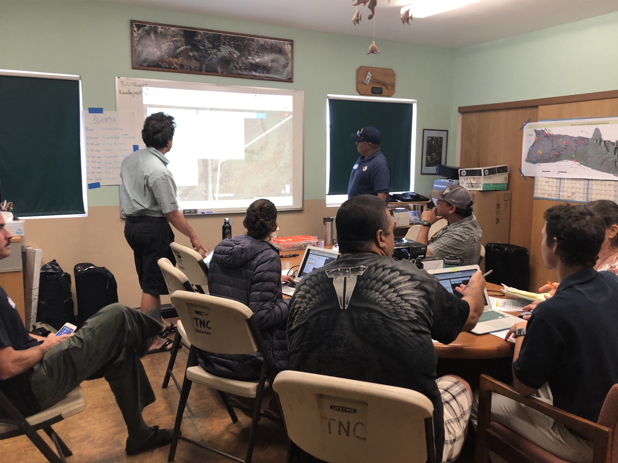 Molokai Vegetative Fuels Management Collaborative Action Planning and Mapping Workshop_4_2_2019_32.JPG