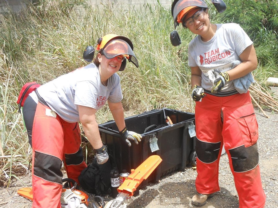 Big mahalo to Team Rubicon for the enormous time and effort they donated to the cause!
