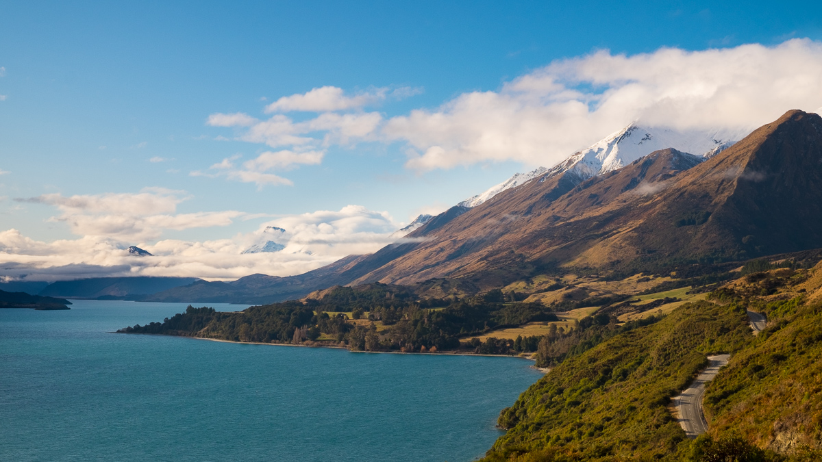 Mount Creighton, along the Glenorchy-Queenstown Road