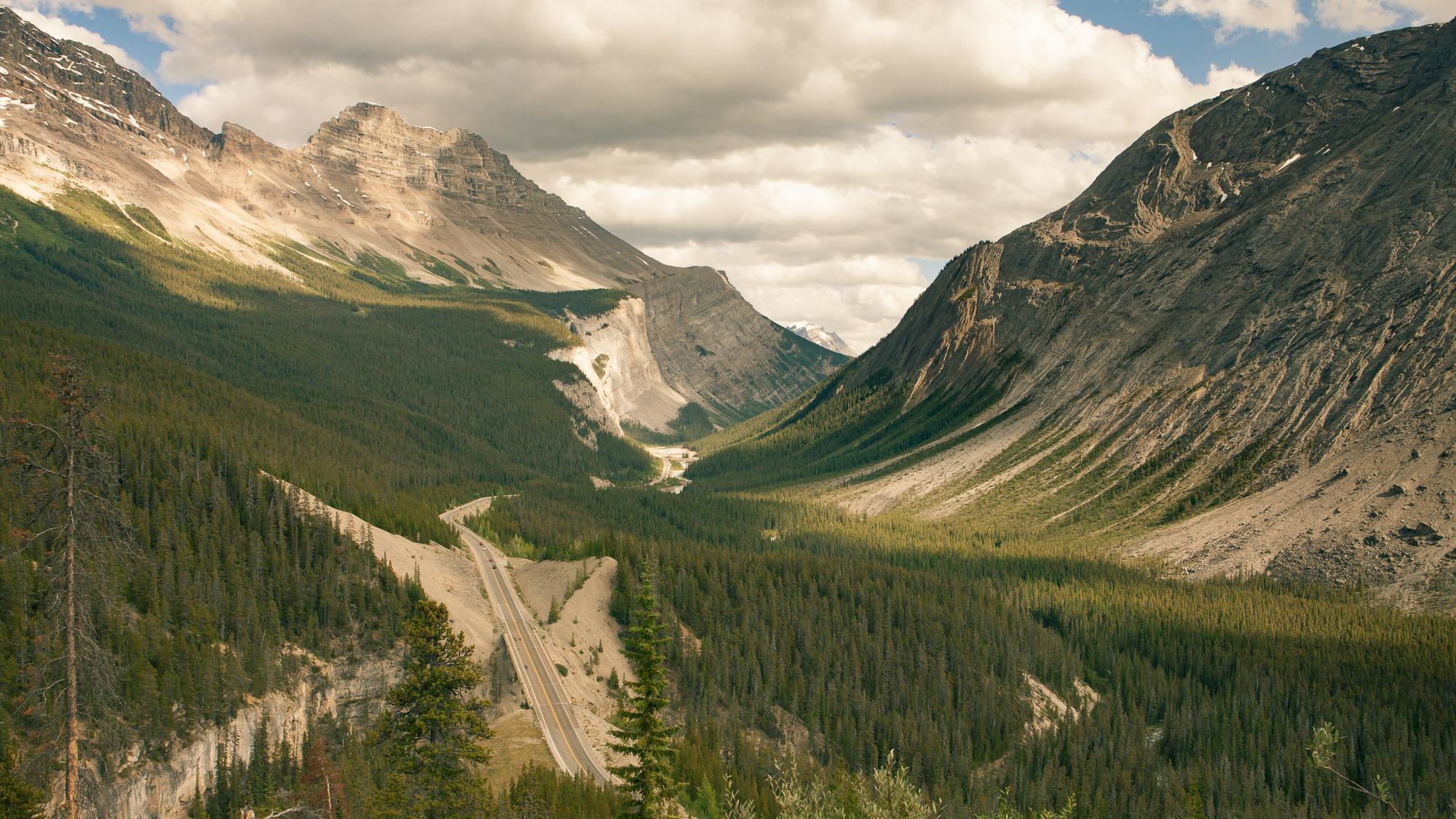 Icefield Parkway, Canadian Rockies