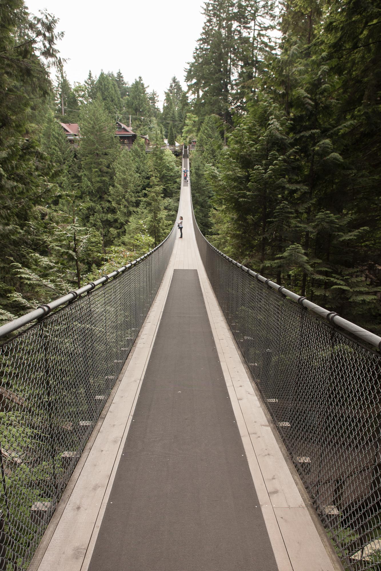 Capilano Rope Bridge, Canada