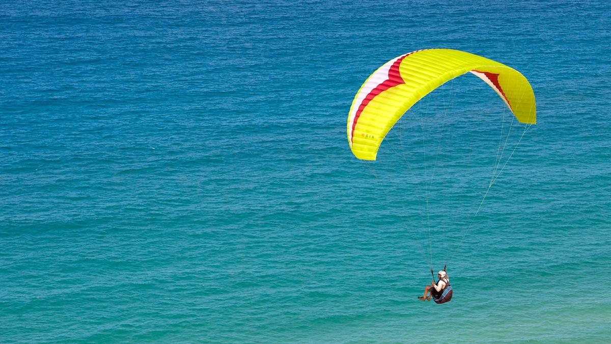 Paragliding, Rainbow Beach, Queensland