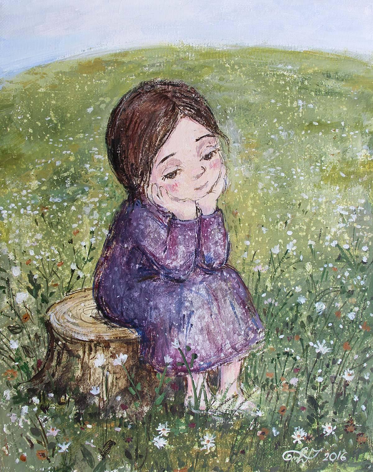 36 способов почувствовать любовь и счастье (живопись Нино Чакветадзе) —  Friend in Georgia