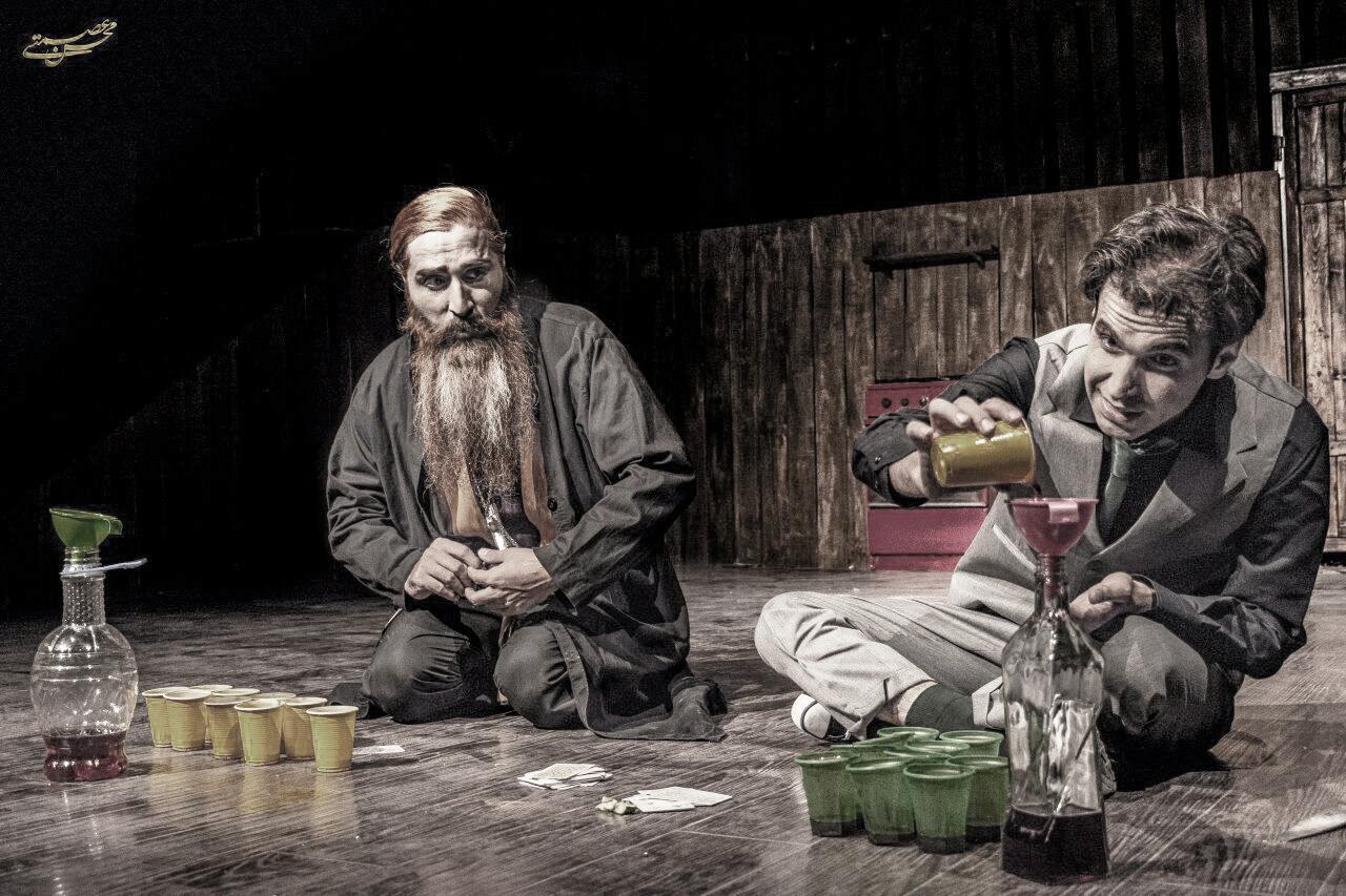 """Тот же """"Сиротливый запад"""" - но уже в исполнении Bojnour Art Theatre из Ирана"""
