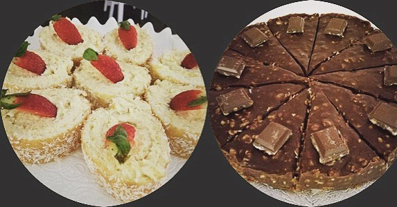 Har ni testat våra goda glutenfria kakor! Idag har vi citron & kokos rulle. Och Schweizernöt tårta med grädde!#lejascafeua #lejascafe #uddevallacafe #whiteguidecafe #hembakat #glutenfritt #äktaråvaror