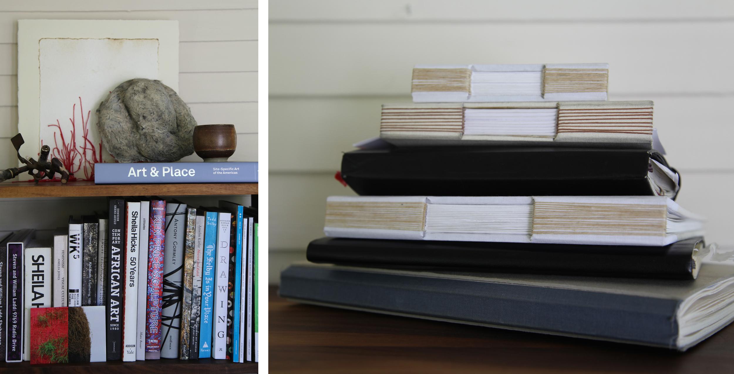 Studio and sketchbooks (2014)