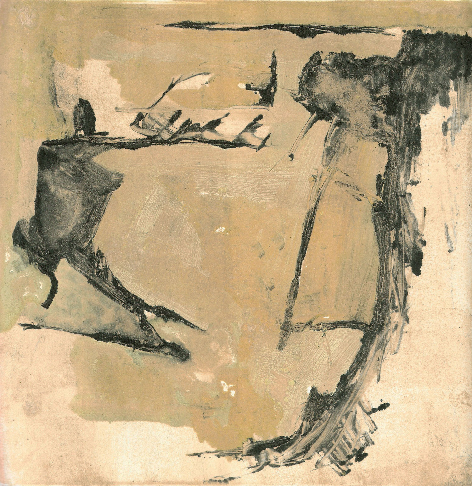 An Offering, monotype, 7x8, 2013