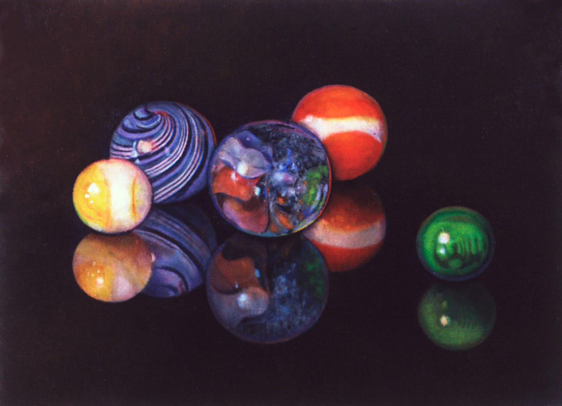 """""""Still Life with Marbles"""""""